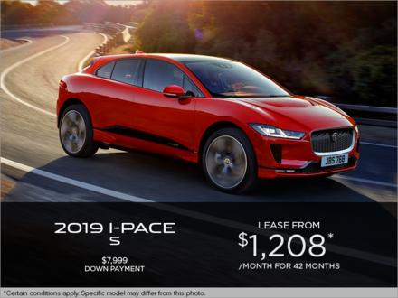 The 2019 Jaguar I-PACE S EV400