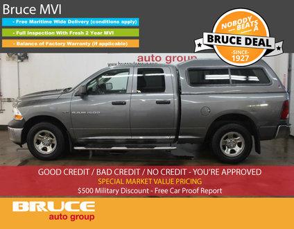 2011 Dodge RAM 1500 ST 5.7L 8 CYL HEMI AUTOMATIC 4X4 QUAD CAB