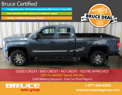 2014 GMC Sierra 1500 WT 4.3L 6 CYL AUTOMATIC 4X4 EXTENDED CAB