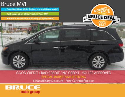 2015 Honda Odyssey EX-L #1 IN PRICE AND VALUE IN CANADA