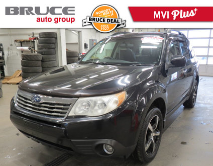 2010 Subaru Forester LIMITED - LEATHER INTERIOR / AWD / SUN ROOF