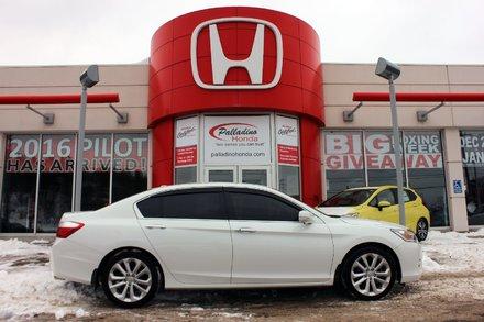 2014 Honda Accord Sedan Touring- NAV + BLUETOOTH & MORE