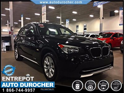BMW X1 28i/CUIR/TOIT PANORAMIC/MAGS/AWD 2012