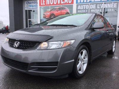 Honda Civic Cpe SE, A/C, MAGS, RÉGULATEUR DE VITESSE 2011 JAMAIS ACCIDENTÉ
