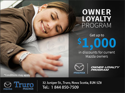 Mazda Owner Loyalty Program Truro Mazda - Mazda loyalty program