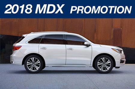 2018 MDX promotion