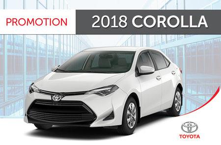 Toyota 2018 Corolla 6M