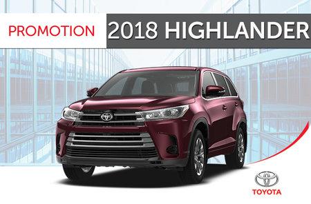 Toyota 2018 Highlander V6 AWD