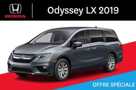 Honda Odyssey LX Automatique 2019