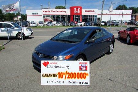 Honda Civic COUPE DX-A 2008 GARANTIE 10 ANS 200,000KM