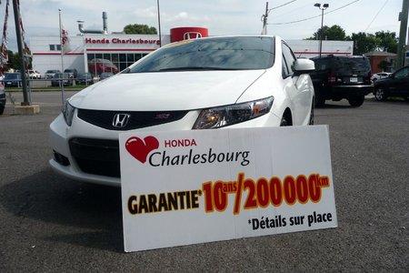 Honda Civic COUPE SI 2013 GARANTIE 10 ANS 200,000KM