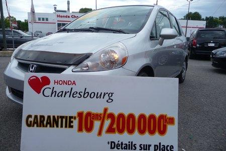 Honda Fit LX 2007 GARANTIE 10 ANS 200,000KM