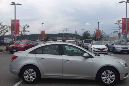 2014 Chevrolet Cruze 1LT...TURBO...CLEAN CARPROOF