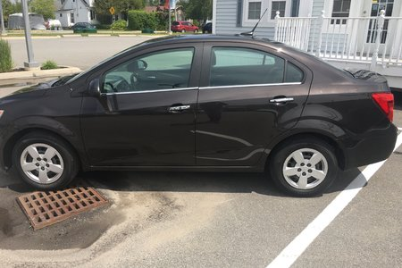 2014 Chevrolet Sonic LT- $105 B/W