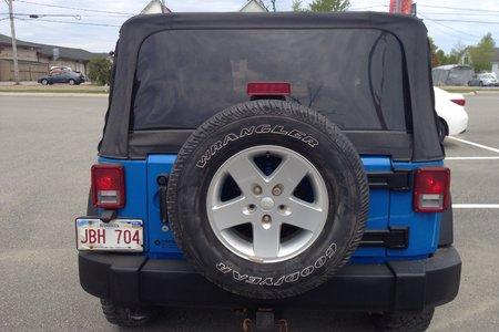 2011 Jeep Wrangler Sport- $192 B/W