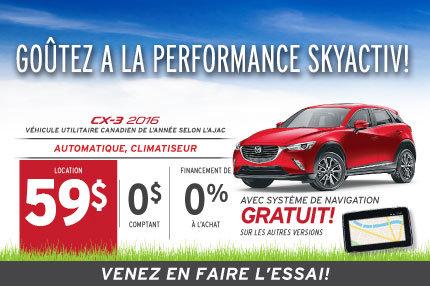 Location de Mazda CX-3 2016