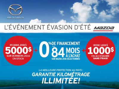L'événement Évasion d'été de Mazda