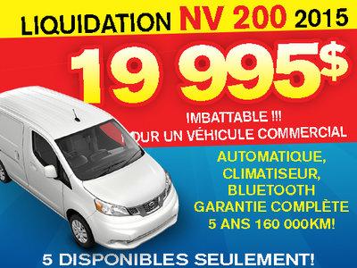 Liquidation NV 200 2015