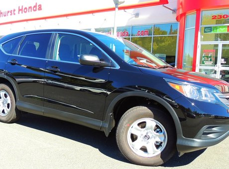 My experience with the sales staff at Bathurst Honda was excellent! Harvey & Joan Boucher