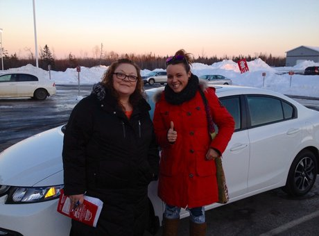 I really liked my salesperson, she is social and funny! Tania LeBreton