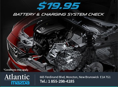 Battery and charging system check