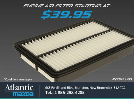 Change your engine air filter today!