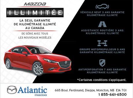 La nouvelle garantie kilométrage illimitée de Mazda