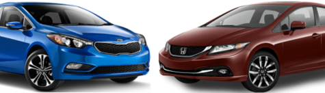Kia Forte 2015 vs Honda Civic 2015 à Québec