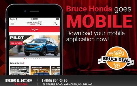 Bruce Honda Goes Mobile!