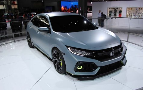 2017 Honda Civic Hatchback: #CivicNation is strong with this one