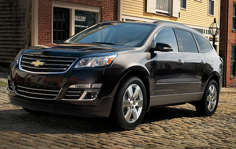 2015 chevrolet traverse an incredibly spacious 3 row suv by justin barker bruce automotive. Black Bedroom Furniture Sets. Home Design Ideas