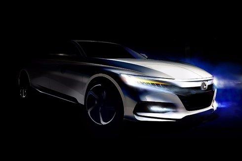Honda annonce la nouvelle Honda Accord 2018