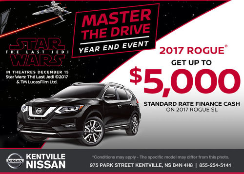 Save on the 2017 Nissan Rogue