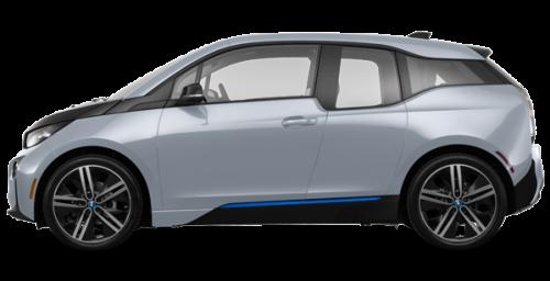 Argent métallisé rehaussé de Bleu Givré BMW i