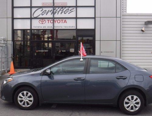 2014 Toyota Corolla PREMIER VERSEMENT EN MARS 2017