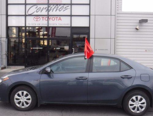 Toyota Corolla SEULEMENT 24000KM 2015