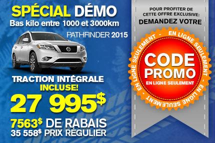 Spécial démo : Nissan Pathfinder 2015