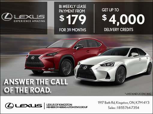 The Lexus Answer the Call of the Road Event