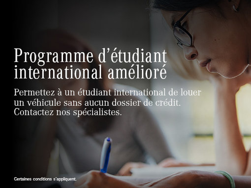 Programme d'étudiant international amélioré