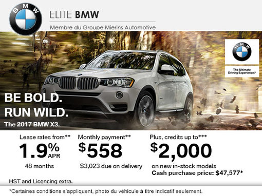 BMW's Monthly Sales Event!