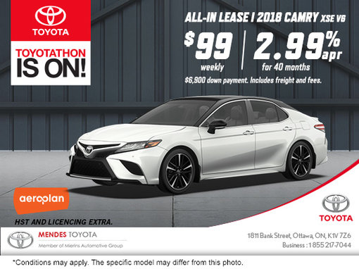 Get the All-New 2018 Toyota Camry!