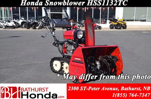 2011 Honda Power Equipment HSS1132CT Snowblower