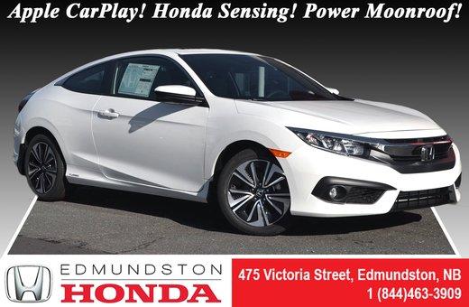 2018 Honda Civic Coupe EX-T - HS