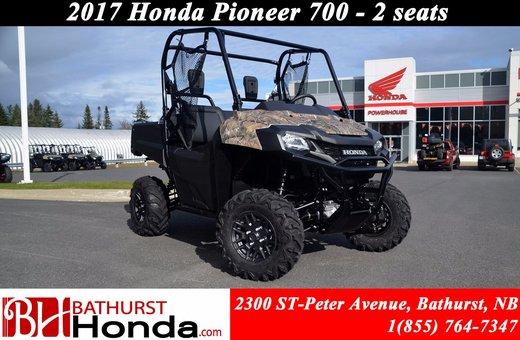 Honda Pioneer 700 Deluxe 2017