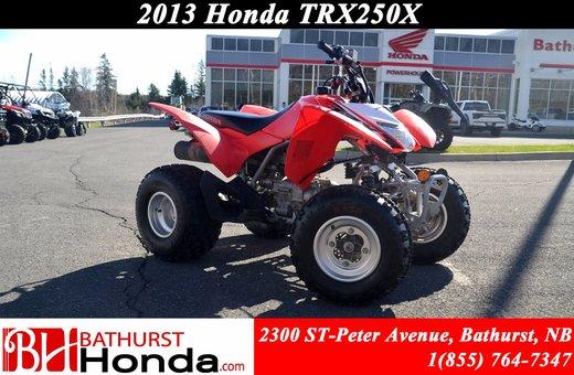 2013 Honda TRX250 X