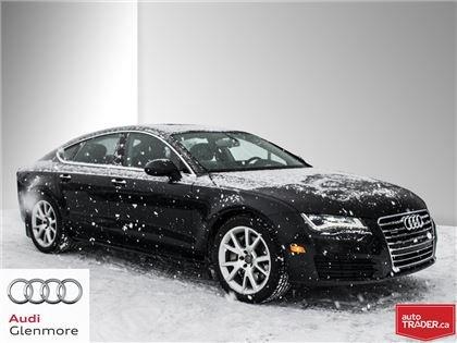 2013 Audi A7 3.0T Premium Sportback 8sp Tip qtro