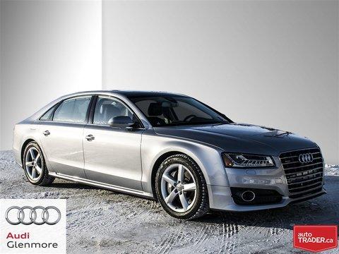 2017 Audi A8 LWB 4.0T quattro 8sp Tiptronic