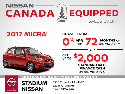 Save on the 2017 Nissan Micra Today!