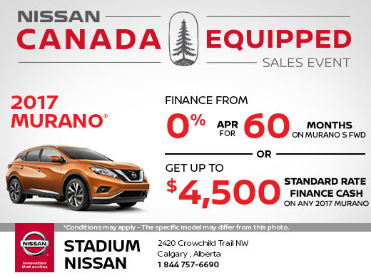 Save on the 2017 Nissan Murano Today!