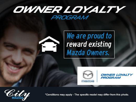 Mazda Owner Loyalty Program City Mazda Promotion In Halifax - Mazda loyalty program